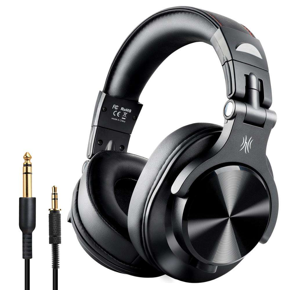 OneOdio Fusion Bluetooth Headphones, Studio DJ Headphones with Share-port
