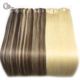 2020 trend hot products seamless human hair clip in hair extension