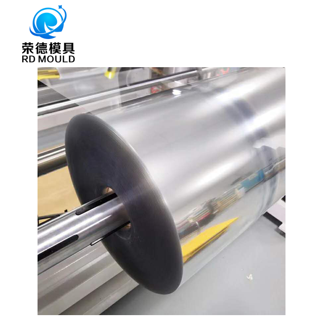 Plastic factory transparent custom thickness wide anti fog PET plastic sheet roll rolls with protect films