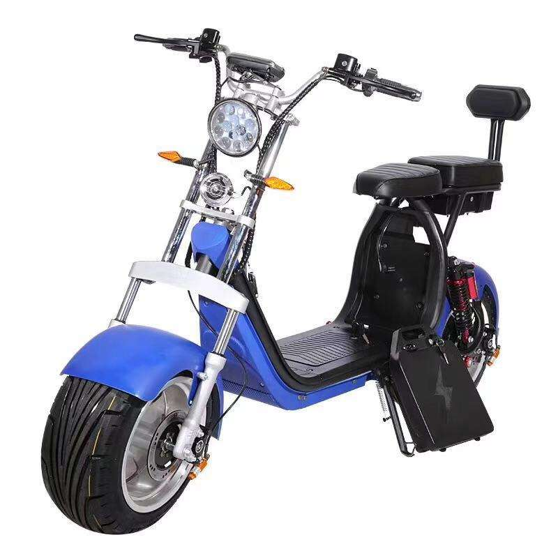 EEC Hign-ending citycoco electric scooter powerful motorcycle scooter 3000W with fat tires for adult