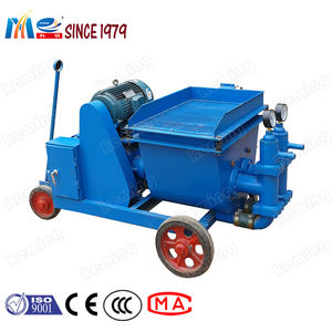 Double Piston Cement Mortar Pump Grouting Machine for Mortar Pumping