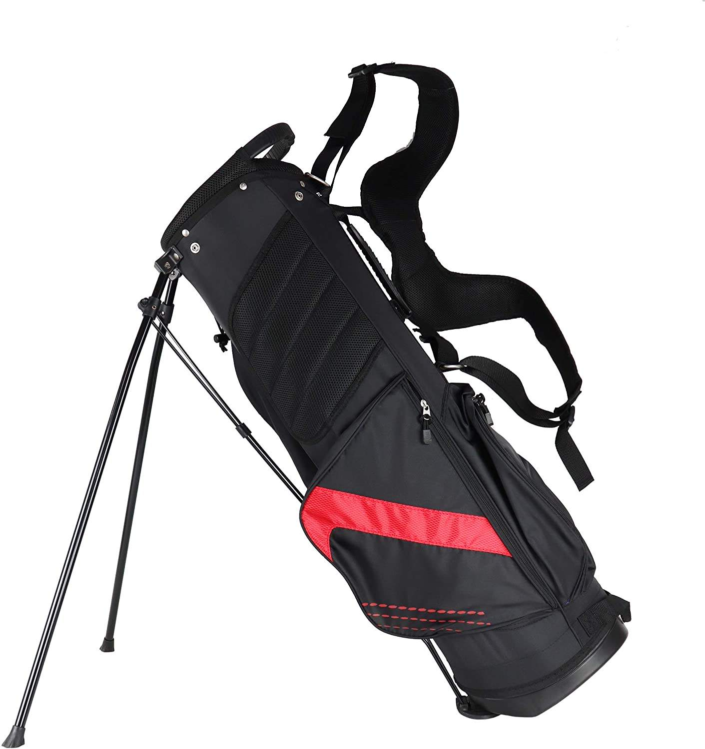 Wholesale travel waterproof sunday 14 way golf sport gym bag practice golf carry bags custom golf stand bag