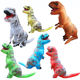 6 Color Funny Halloween Costumes Inflatable Jurassic T rex costume for Adults