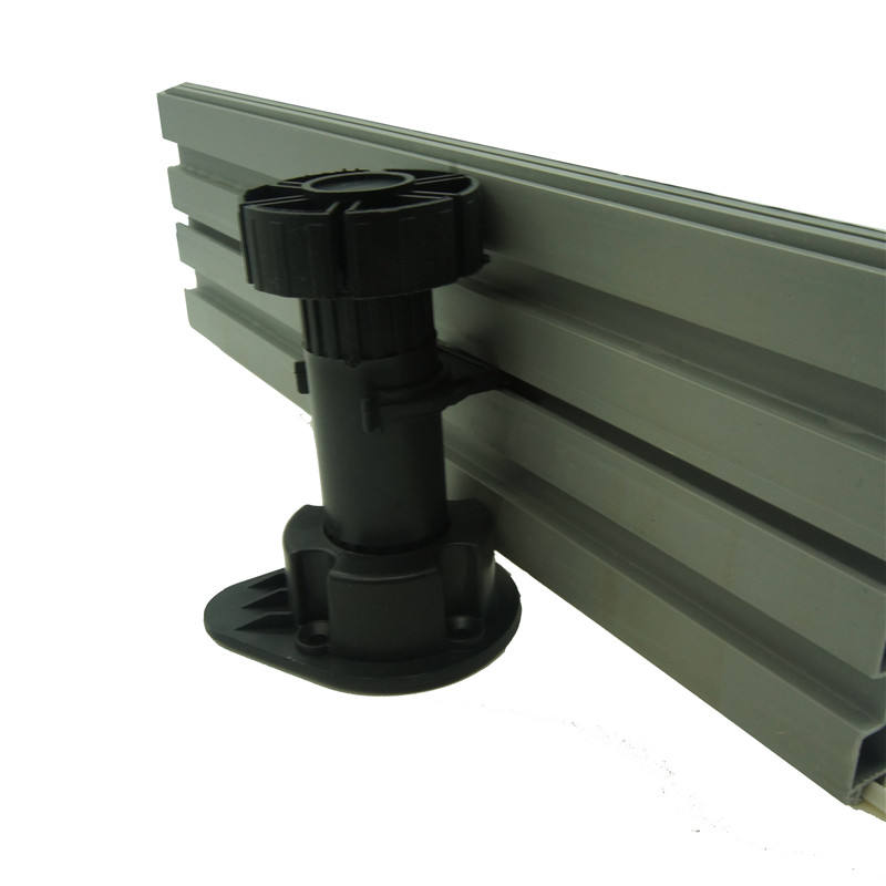 plastic PVC kitchen cabinet aluminum plinth skirting boards