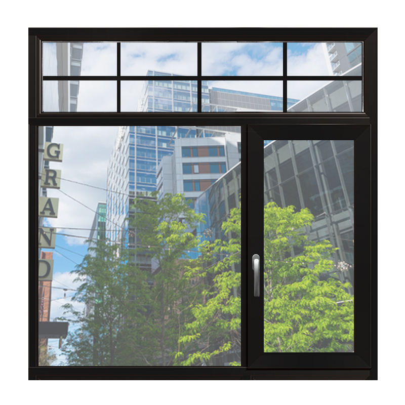 New arrival high quality new waterproof aluminum casement window and door grill design price philippines