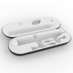 Custom charging travel kit rechargeable toothbrush case