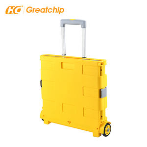 Eco-Friendly Shopping Trolley Bag Collapsible Wheeled Shopping Trolley Reusable Shopping Cart Bags Folding Cart