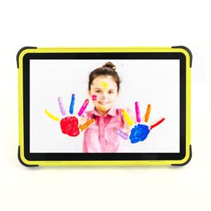 2019 New 10 inch android tablet pc children educational learning android kids tablet with silicon case stand from china