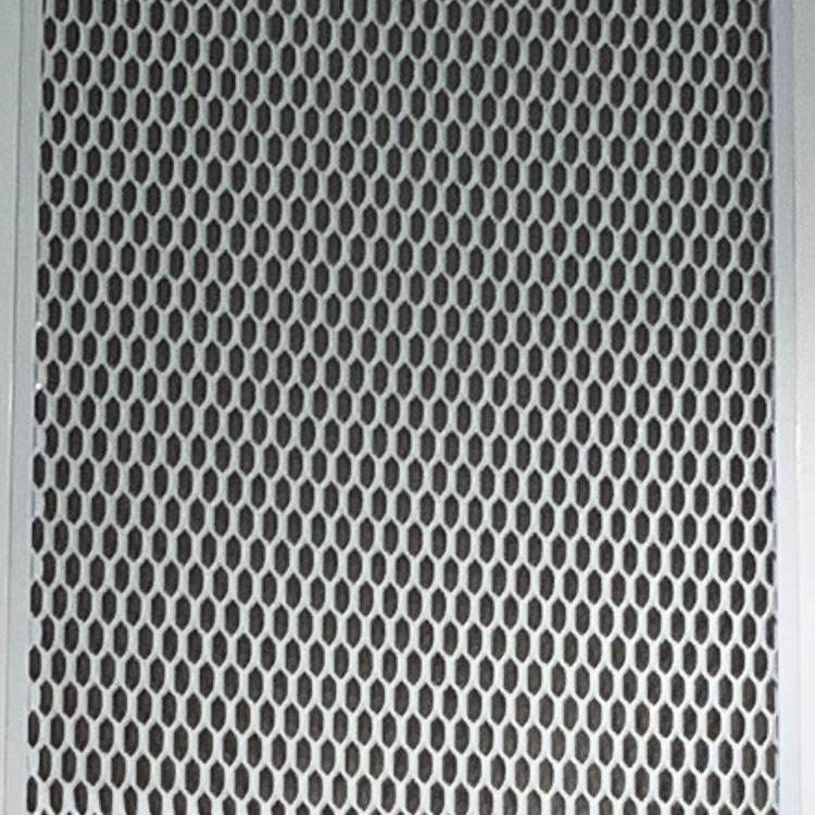 Pvdf Powder Coating Exterior Building Curtain Aluminum Expanded Metal Wire Mesh Facade Cladding Mesh Panels