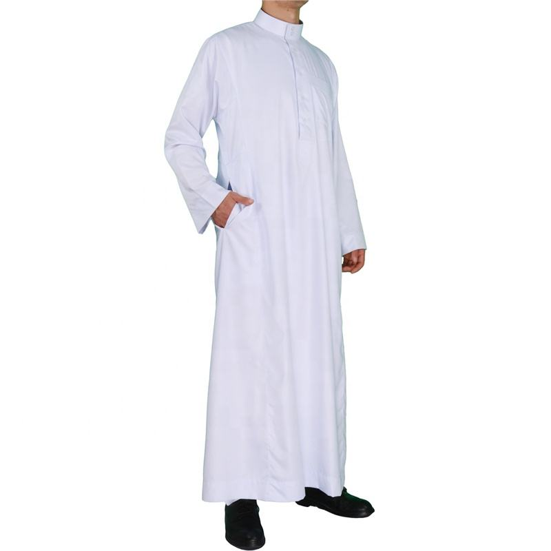 Wholesale full length men islamic clothing arabic thobe
