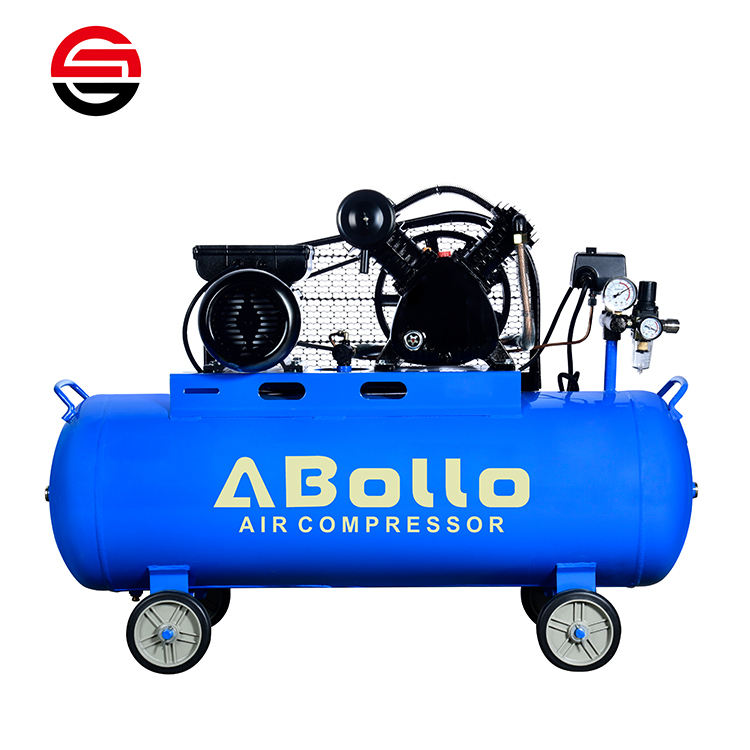 220V/380V 3kw 5.5kw 7.5kw small portable piston air compressor