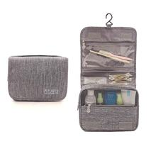Good Quality Custom Large Compact Hanger Waterproof Travel Accessories Shaving Toiletry Kit Cosmetic Pouch Bag