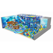Fantastic cafe equipment eco-friendly shopping mall kids indoor playground pirate ship