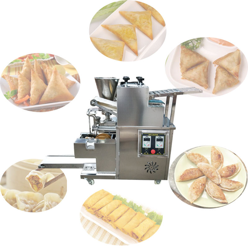 2020 automatic samosa empanada maker frozen gyoza machine Dumpling Making Machine