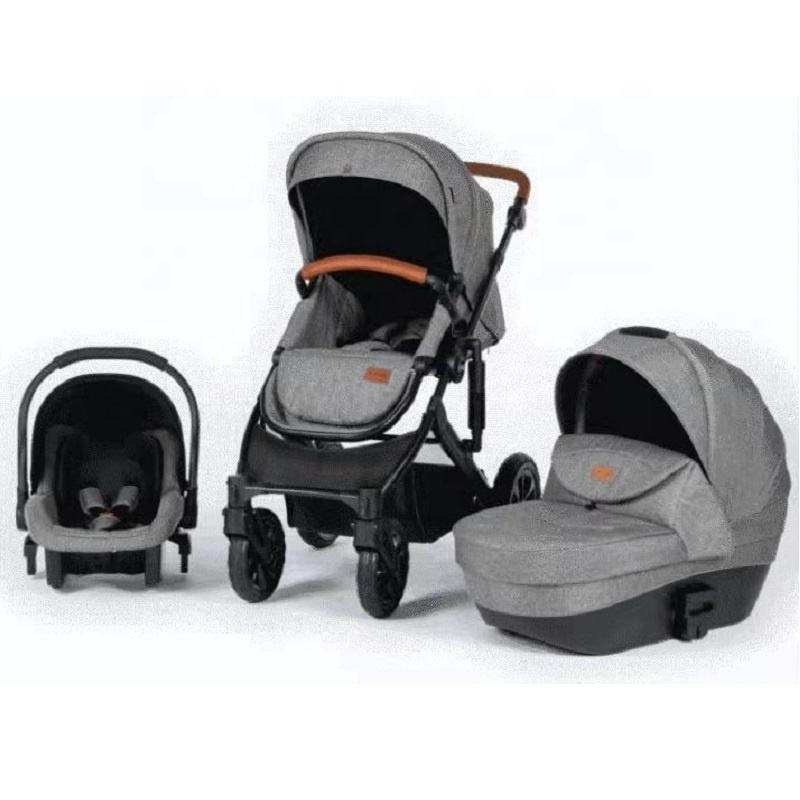 Luxury Baby Stroller High Land-Scape Baby Pram 3 in 1 Hotmom Carriage