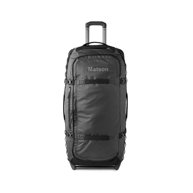 Large Capacity Rolling Duffle Bag Carry-on Luggage Wheeled Trolley Bags With Side Compression Belt