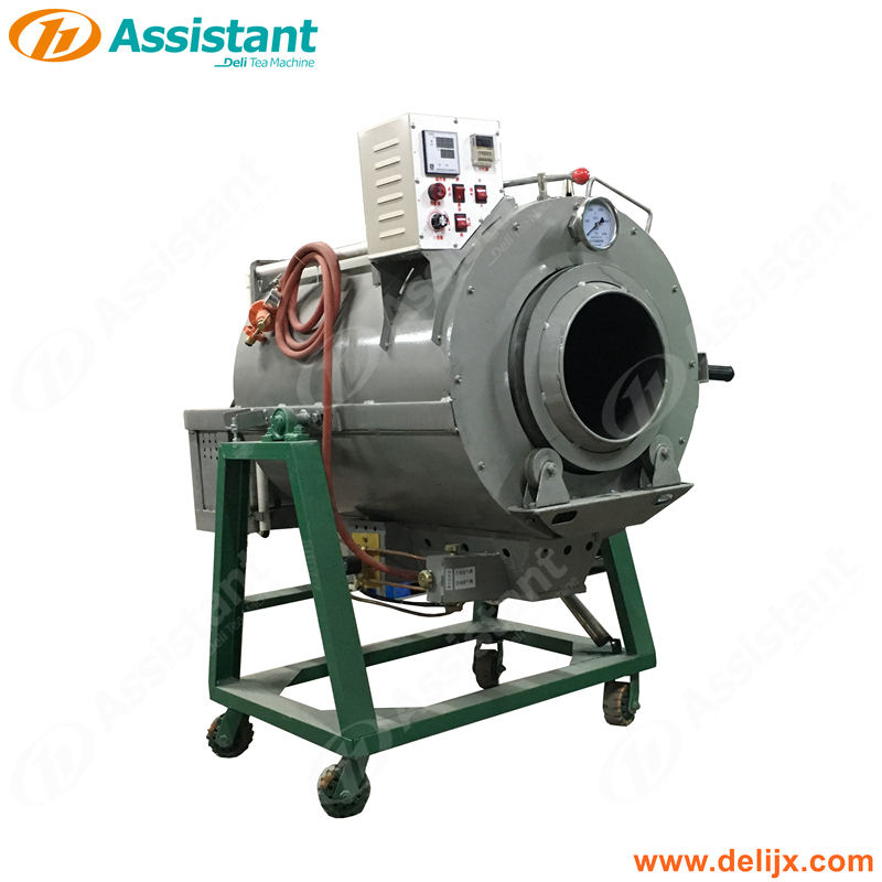 Liquid Gas Bitter Leaf Green Tea Mini Steaming Fixation Processing Machine For Tea Factory Process Manufacturer DL-6CST-50