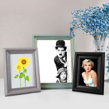 Dongjin Wholesale Eco-friendly Tabletop Wall hanging Wood Wooden MDF PS Aluminum Metal Photo Picture Frame