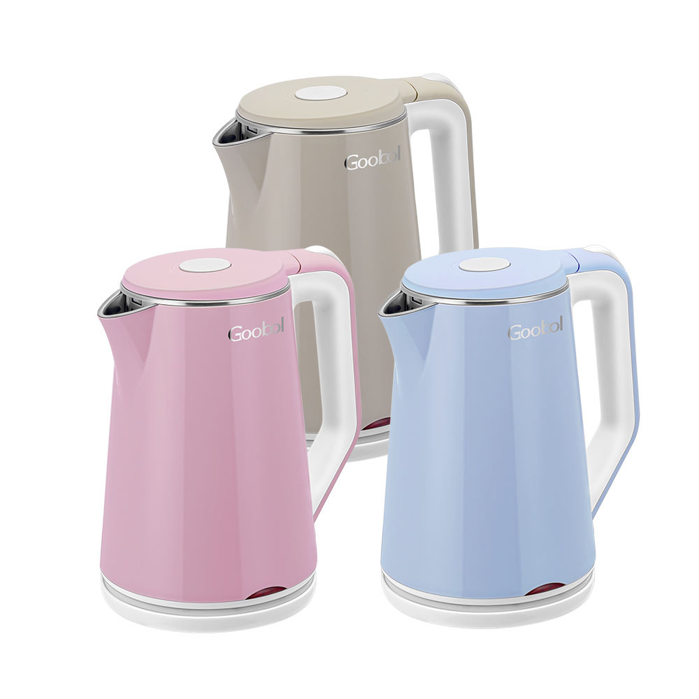 Cordless Cool Touch 1800ワットWater Stainless Steel Electrical Ss Electric Kettle 1.8l