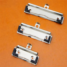 Stationery accessories metal clip board clips or clip board clamps and hot sale clipboard clips