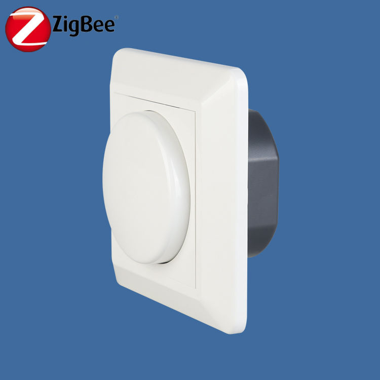 230v 50hz RF zigbee smart triac led light dimmer with zigbee temperature humidity sensor for automatic smart home