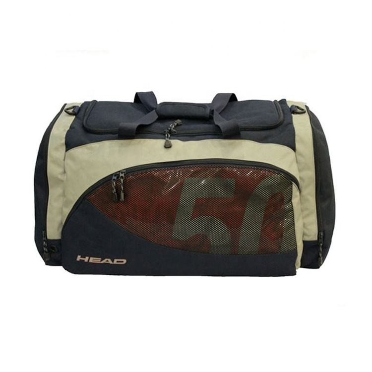 Wholesale colors customizable travel and sports bag made of reasonable and affordable polyester fabric