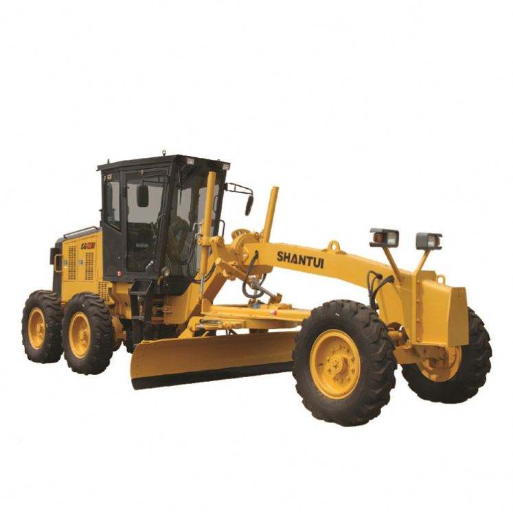China Shantui Road Grader With Tractor Rippers 210 Hp Motor Grader In Stock SG21-3
