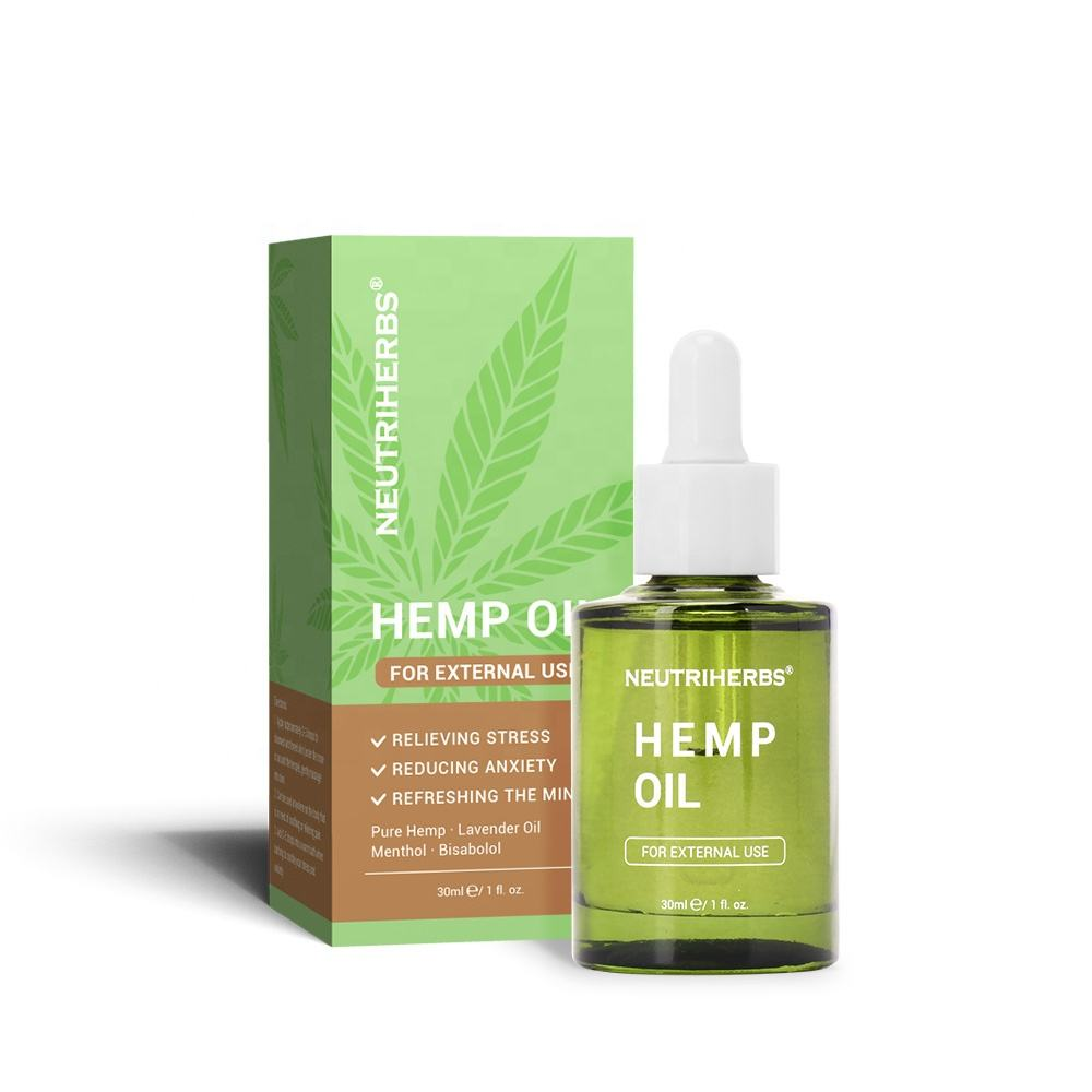 Private Label Pain Relief Herbal Extract Pure Essential Oils Raw Hemp Seed Oil Cbd
