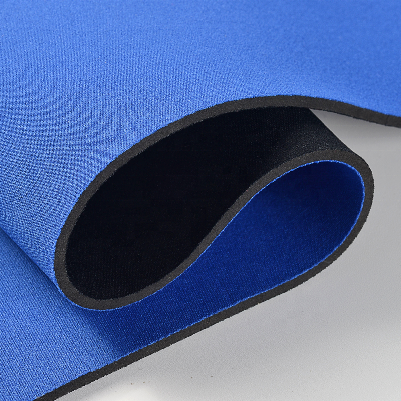 2.5mm recycling neoprene rubber fabric roll neoprene