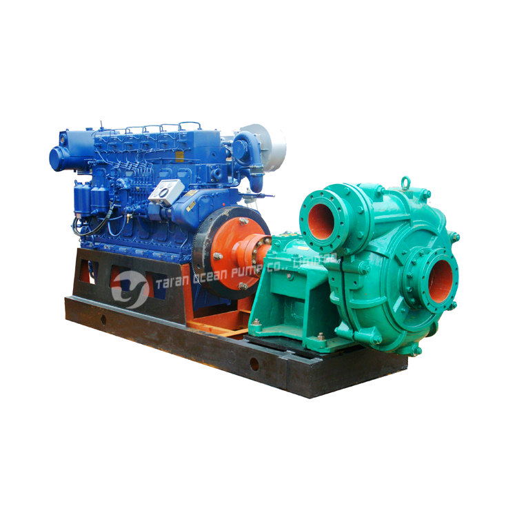 Oil Field Drilling Centrifugal Sand Mud Treatment Centrifugal Dredge Pump