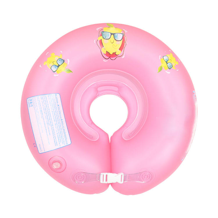 Baby Infant Bath Swim Swimming Aids Neck Collar Float Ring Float Tube Adjustable