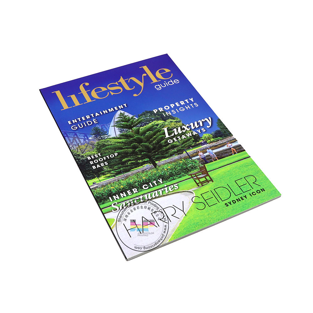 Brochure/Magazine/Catalogue full Color Booklet Printing