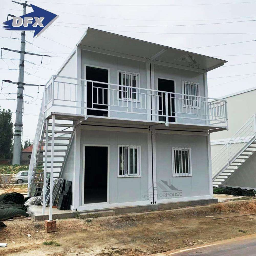 Low cost prefab+houses prefabricated container housing homes