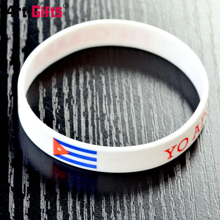 One-Stop Service Rubber Band Silicon Band Wristband Odm Bracelet Rubber Wrist Band Cheaper Silicone Wristband