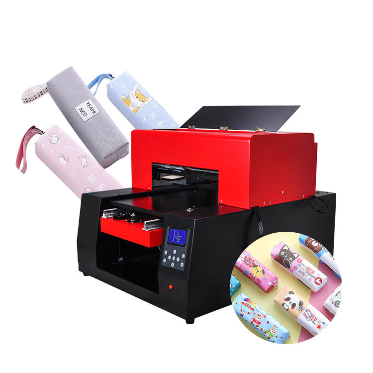 Small A3 UV Inkjet Printer Flatbed Printing Mobile Phone Case T-shirt Printer Machine