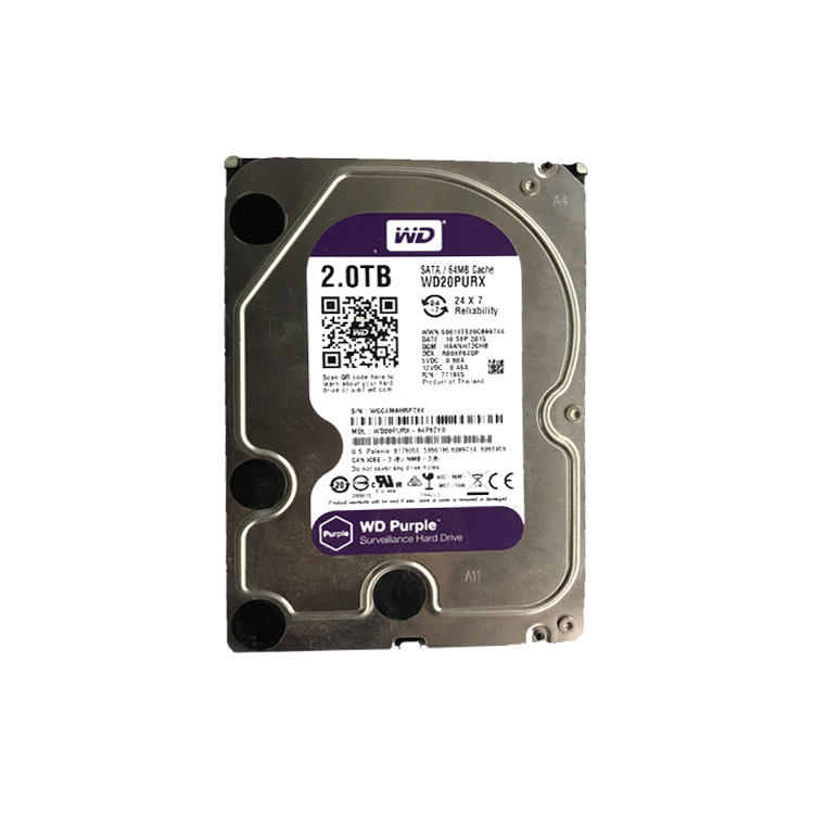 2020 Popular Hdd 3.5 inch Sata 2Tb Internal Hard Disk Drive For Laptop Storage
