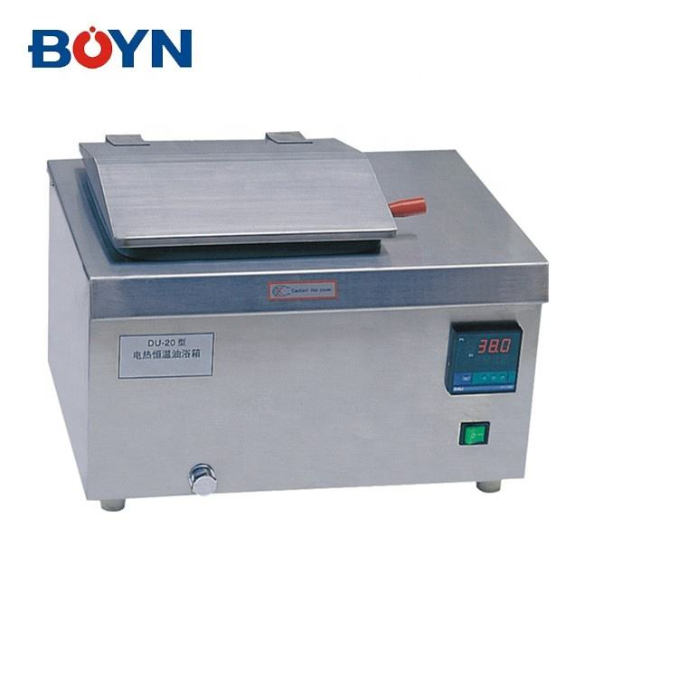 DU-20 Laboratory Microprocessor PID control Oil Bath with timing function