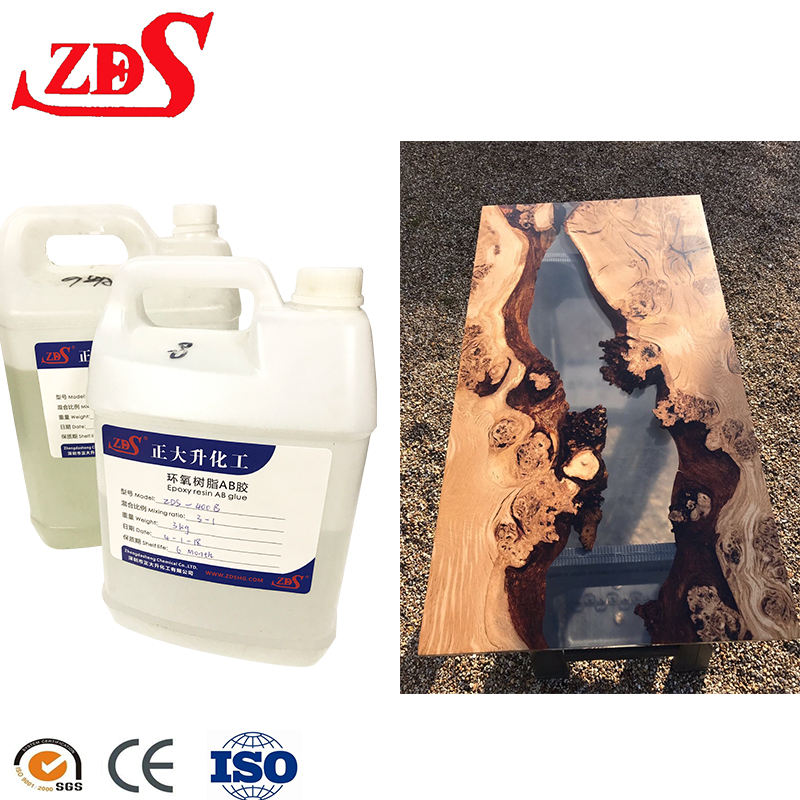 Non toxic resin epoxy,crystal clear epoxy resin for casting wood table