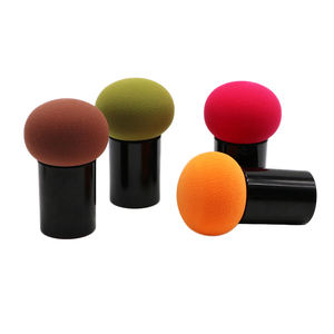 powder puff set non-latex sponge color makeup blender bb cream foundation dry and wet