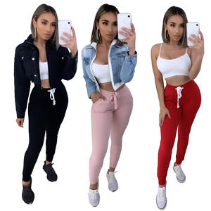 Oem Women Jogger Wholesales Sweatpants cheap Custom Slim Fit Jogger Trendy Sweatpants