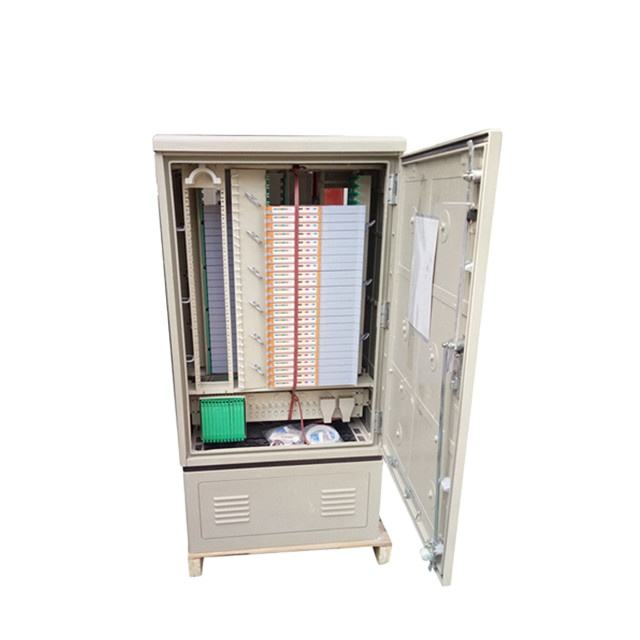 Fiber Optic Cross Connect SMC Cabinet Outdoor 288 Port