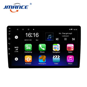 Touch Screen Universele Multimedia 2 Din 10 Inch Audio Stereo Android 9 Auto Radio