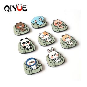 Online Sales Customized Promotional Gifts 3D Acrylic Animals Fridge Magnets