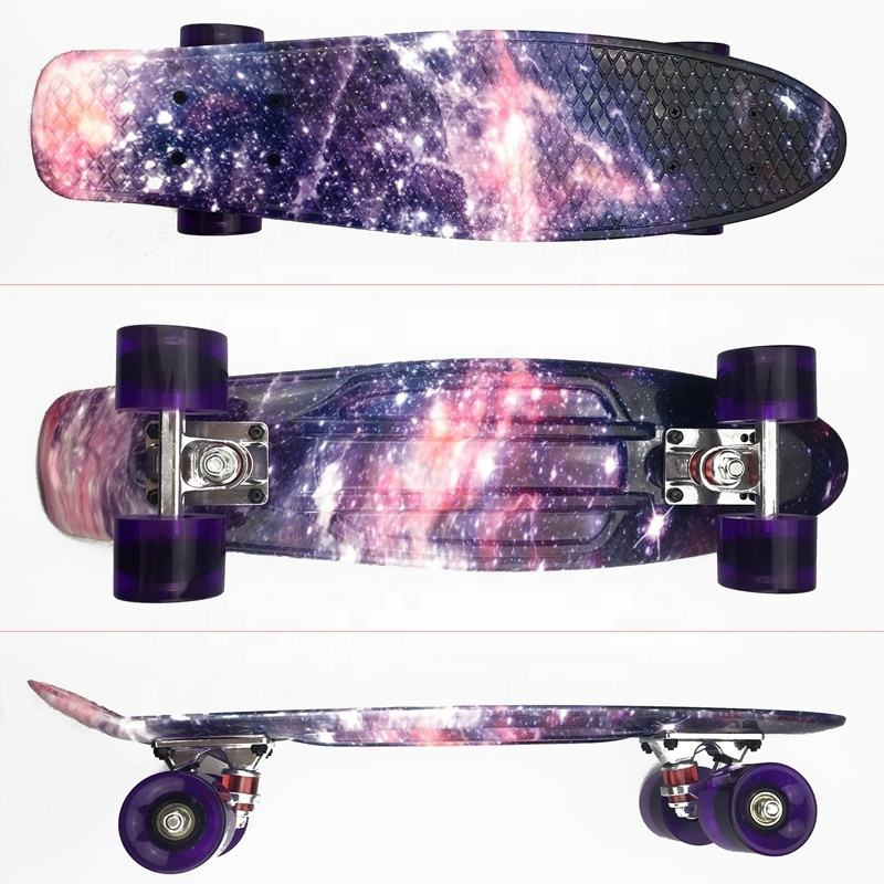 22 Inch Cheap Prices Custom Design Deck Wheel Pattern Standard Complete Skateboard for Kids Adult Beginner Teens