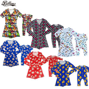 2020 New Lovely Onesie Mommy and Me Cartoon Cute Onesie For Kids