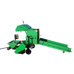 High quality film covered hydraulic press machine hay mini round straw DQ0 silage baler
