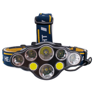 8Led Usb Rechargeable Head Lamp T6 Cob red Outdoor High Power Waterproof Camping Flashlight