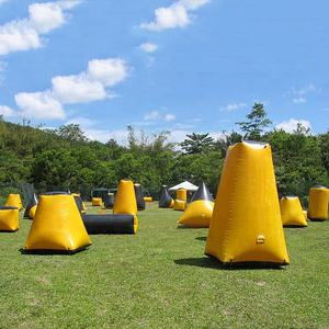 ร้อนขาย paintball BUNKER paintball อุปสรรคเกม Inflatable paintball BUNKER in China