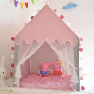 Classic children's tent children's play tent baby house princess castle children out tent