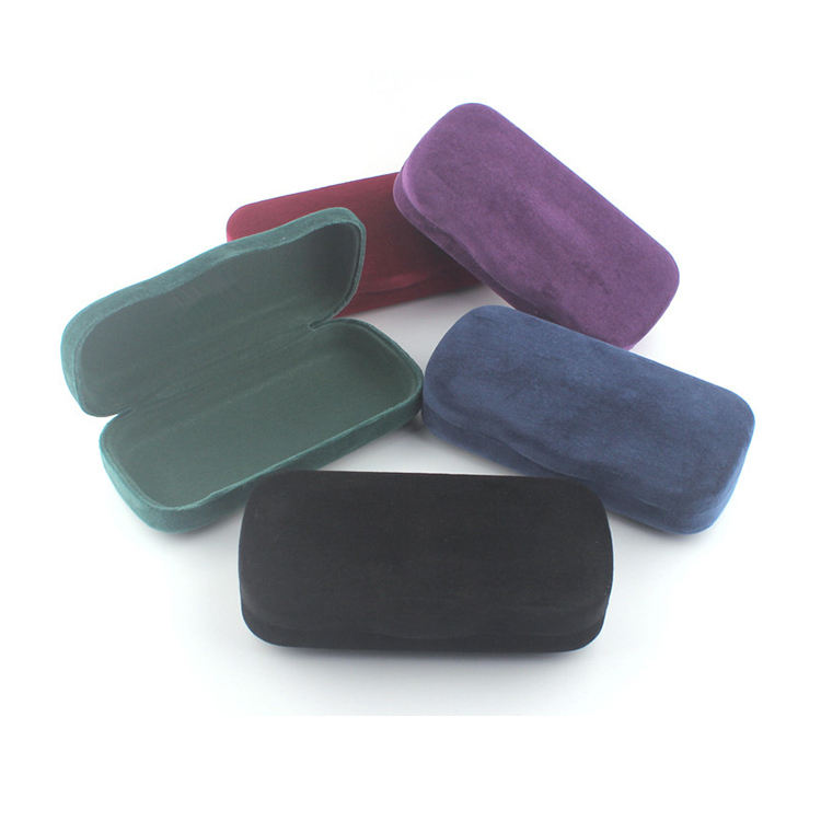 CE Certified Large Soft Velvet Hard Glasses Case Sunglasses Case With Glasses Bag Glasses Cloth
